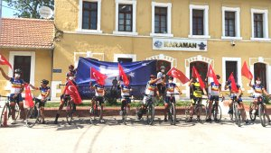 Karaman'da 15 Temmuz şehitleri anısına bisiklet yarışı düzenlendi
