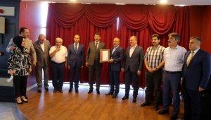 """Sivas'taki termal tesise """"Kovid-19 Güvenli Konaklama Sertifikası"""" verildi"""