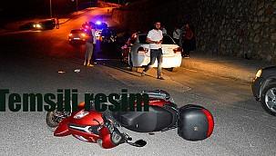 Dualar motosiklet kazasında ağır yaralanan genç için. Hayati tehlikesi devam ediyor