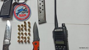"""Eskişehir'de polisin """"dur"""" ihtarına uymayan 4 şüpheli yakalandı"""