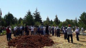 Hüyük'teki kazada hayatını kaybeden temizlik görevlisi toprağa verildi
