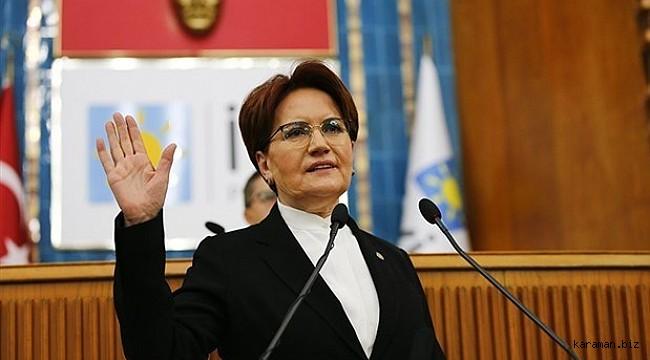 İYİ Parti Genel Başkanı Akşener Nevşehir'de konuştu: