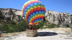 """Kapadokya'da """"sanal balon turu"""""""