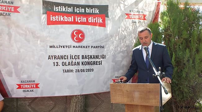 MHP'de Ayrancı ve Ermenek ilçe kongreleri tamamlandı