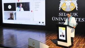 Selçuk Üniversitesinde sosyal mesafeli 45. yıl mezuniyeti