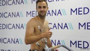 Sivasspor'un yeni transferi Jorge Felix sağlık kontrolünden geçirildi