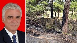 Antalya'da yangın çıkan ormanlık alanda ceset bulundu, cesedin kimliği şok etti