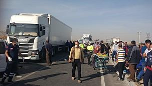 Dün Karapınar'da meydana gelen kazada yaralanan Karaman'lı sürücü hayatını kaybetti