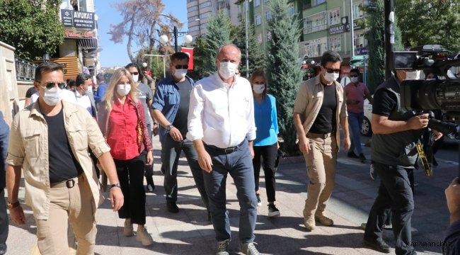 Eski CHP Milletvekili Muharrem İnce Yozgat ve Kırıkkale'de esnafı ziyaret etti - - Karaman Biz Haber