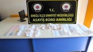 Konya'da tefecilik yaptıkları iddiasıyla 8 şüpheli gözaltına alındı