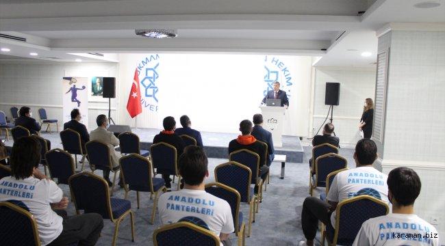Anadolu Panterleri Basketbol Takımı, Lokman Hekim Üniversitesi ile sponsorluk anlaşması imzaladı