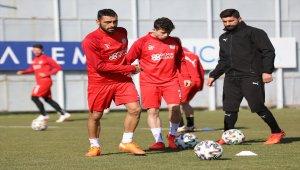 Sivasspor'da Fatih Karagümrük maçı hazırlıkları sürüyor