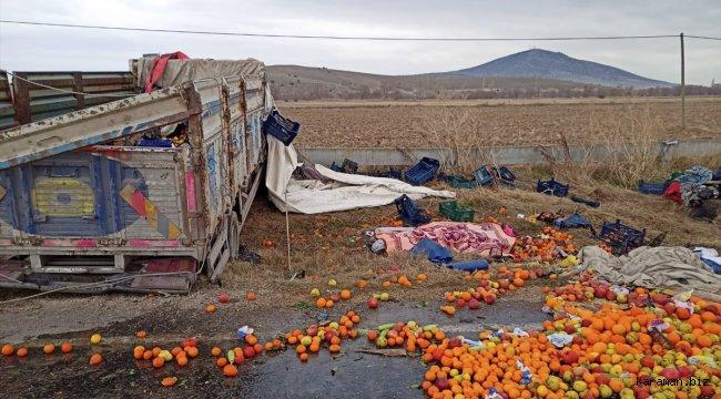 Eskişehir'de kamyonet devrildi: 2 ölü, 2 yaralı