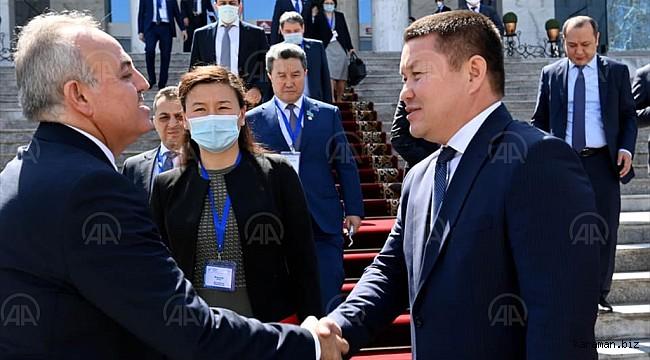 Kırgızistan Meclis Başkanı Vekilimiz Recep Şeker'e teşekkür etti