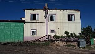 Pınarbaşı'da sadece baca temizleyeceklerdi, evi yaktılar. Geçmiş olsun