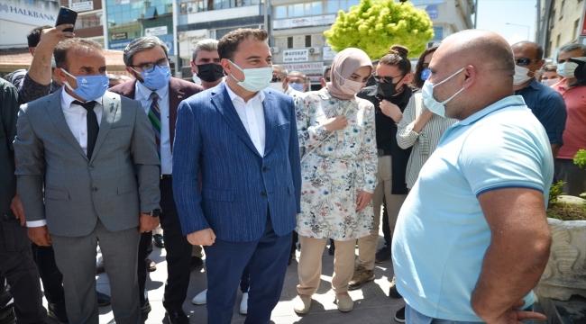 DEVA Partisi Genel Başkanı Ali Babacan, Konya'da esnafı ziyaret etti