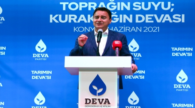 DEVA Partisi Genel Başkanı Ali Babacan, Konya'da tarım toplantısında konuştu: