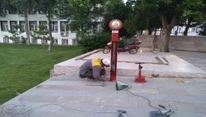Seydişehir Belediyesi ilçenin iki faklı noktasına bisiklet tamir istasyonu kurdu