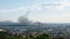 GÜNCELLEME - Ankara Maltepe'de otel yangını