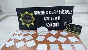 Konya'da emniyetin 5 günlük uyuşturucu bilançosu: 35 gözaltıdan 6 tutuklu