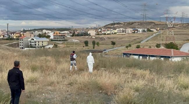Ankara'da boş arazide erkek cesedi bulundu