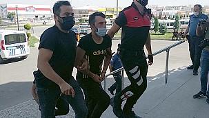 Aynı iş yerine iki saat arayla silahlı saldırı düzenleyen zanlı tutuklandı