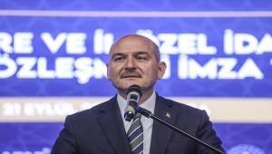 Bakan Soylu, toplu iş sözleşmesi imza töreninde konuştu: