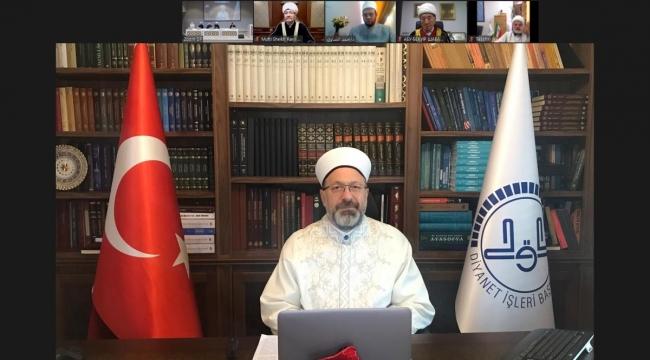 Diyanet İşleri Başkanı Erbaş, 14. Uluslararası Teoloji Konferansı'nda konuştu: