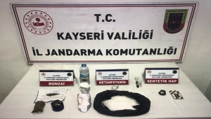 Kayseri'de uyuşturucu operasyonunda 2 zanlı yakalandı