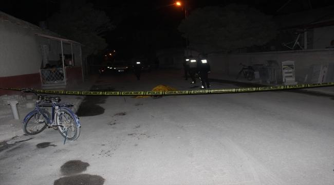 Dün gece Karaman'dan sonra Karapınarda da bir kişi öldürüldü