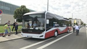 Otokar, Almanya'da elektrikli otobüsünü tanıttı