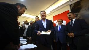 TDP Genel Başkanı Sarıgül, genel başkan adayı temayül yoklamasına katıldı