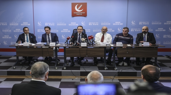 Yeniden Refah Partisi Genel Başkanı Erbakan'dan Kovid-19 aşılarına ilişkin açıklama: