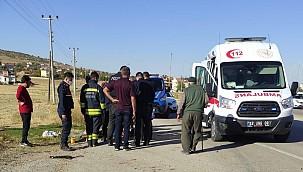 Güneysınır'da meydana gelen kazada 11 kişi yaralandı