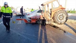 Ereğli'de 3 aracın karıştığı kazada 1 kişi öldü, 2 kişi yaralandı