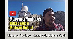 KARAMAN KARADAĞ DA KAMP YAPARKEN MAHSUR KALDIM.VLOG 14