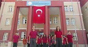 Karaman Alparslan Ortaokulu öğrencilerinden anlamlı destek